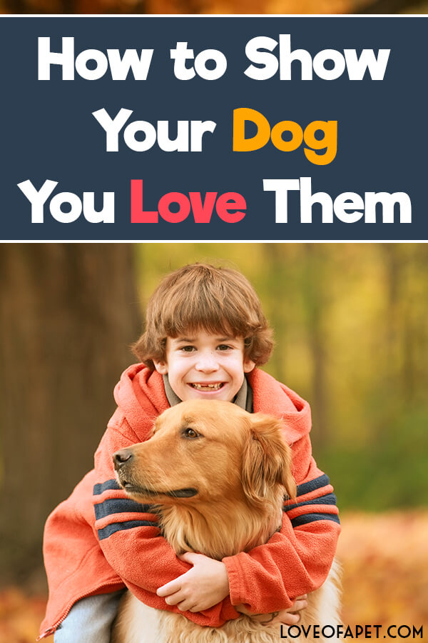 How to Show Your Dog You Love Them: 10 Way